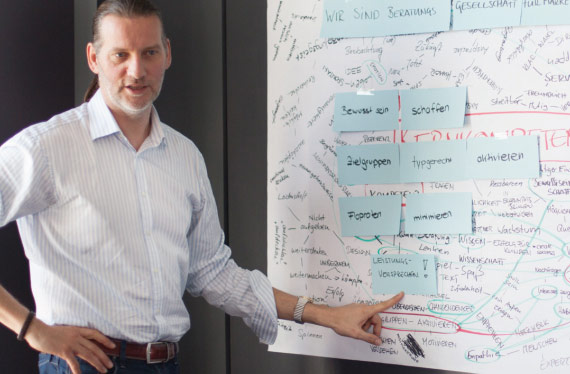 Harald Zickhardt, geistiger Vater der splitterfähigen Marke