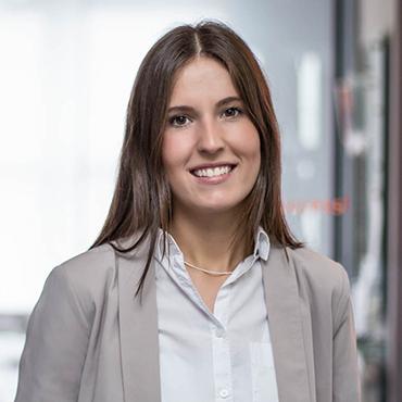 Prisca Sauer, Portrait, Bereich ZUP-Team